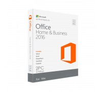 Office Home and Business 2016 / MacOS (2 PC)