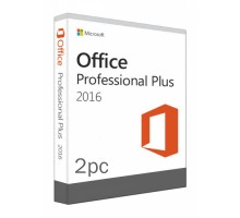 Office 2016 Professional Plus (2PC)