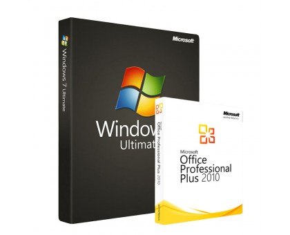 Windows 7 Ultimate и Office 2010 Professional Plus