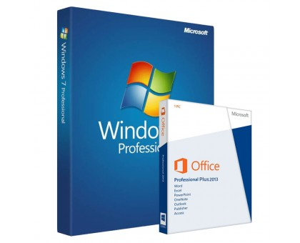 Windows 7 Professional и office 2013 Professional Plus