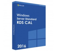 Windows server 2016 standard (RDS CAL) 50 PC