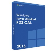 Windows server 2016 standard (RDS CAL)