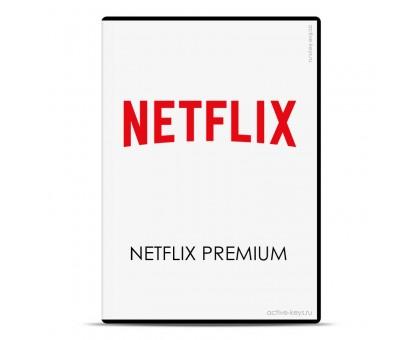 Подписка Netflix premium с гарантией 3 месяца