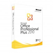 Office 2010 Professional plus (2PC)