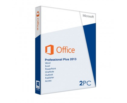 Office 2013 Professional plus (2PC)