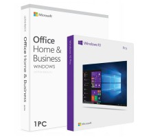 Office Home and Business 2019 с привязкой и Windows 10 professional