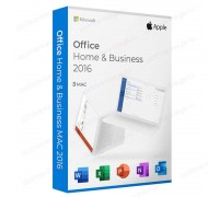 Office Home and Business 2016 / MacOS (3 PC)