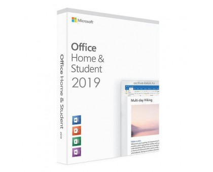 Office 2019 Home and Student (с привязкой к аккаунту)