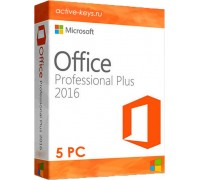 Microsoft office 2016 Professional Plus (5PC)