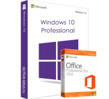 Windows 10 Professional и Office 2016 Professional Plus