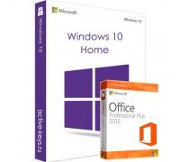 Windows 10 Home и Office 2016 Professional Plus
