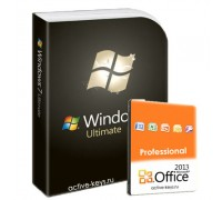 Windows 7 Ultimate и office 2013 Professional