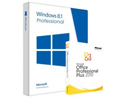 Windows  8.1 professional и Office 2010 Professional Plus