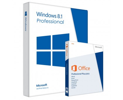 Windows 8.1 professional и Office 2013 Professional Plus