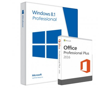 Windows 8.1 professional и Office 2016 Professional Plus