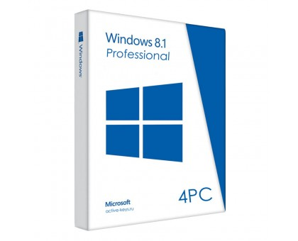 Windows 8.1 Professional (4PC)